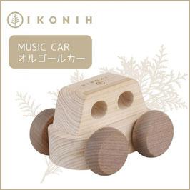IKONIH アイコニー ひのきのおもちゃ オルゴールカー #3