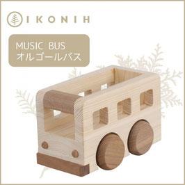 IKONIH アイコニー ひのきのおもちゃ オルゴールバス #5
