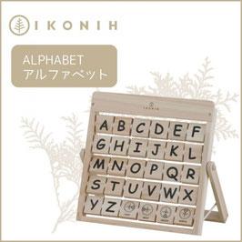 IKONIH アイコニー ひのきのおもちゃ アルファベット #15