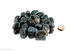 Moosachat Trommelsteine 0,5 kg
