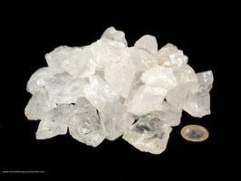 Bergkristall (Quarz) kleine Rohsteine (2-4 cm) - 1 kg