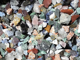 Rohsteinmischung 2-5 cm Brunnensteine 5 kg