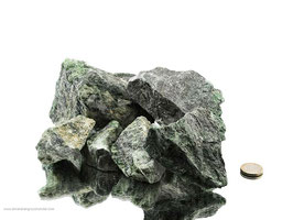 Diopsid (Chromdiopsid) Rohsteine - 1 kg