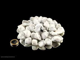 Magnesit Trommelsteine 0,5 kg  Art.Nr.: 10531
