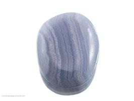 blauer Chalcedon Taschenstein - 1 Stück Art.Nr.: 11301
