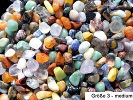 1 kg Trommelsteine Mix Naturmischung