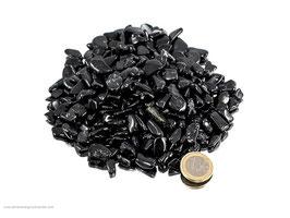 Turmalin schwarz mini Trommelsteine 0,5 kg (Schörl) Art.Nr.: 10696