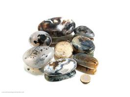 Dendriten Achat Pebbles/XL Trommelsteine 0,5 kg Art.Nr.: 11506