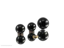 Turmalin schwarz Kugeln 0,5 kg (Schörl) Art.Nr.: 11377