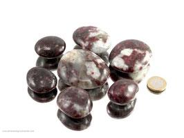 Turmalin rot Pebbles/XL Trommelsteine 0,25 kg