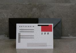 GUTSCHEIN //100er