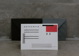 GUTSCHEIN //35er