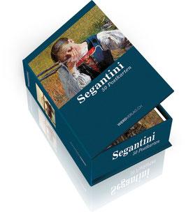 Postkartenbox Segantini