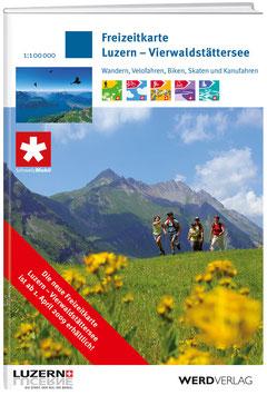 Freizeitkarte Luzern – Vierwaldstättersee