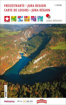 Freizeitkarte Jura Region/Carte de Loisirs Jura Région