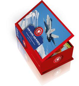 Postkartenbox Our Swiss Air Force