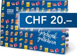 Geschenkgutschein CHF 20.–