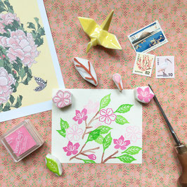 "Tampons ""Sakura"" (cerisier du Japon)"