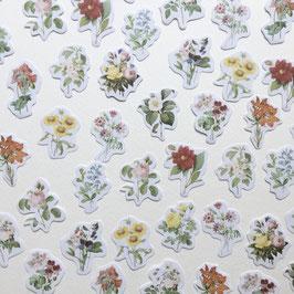 """Stickers """"La beauté des fleurs"""""""
