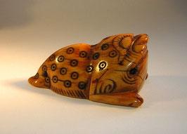 2114 China Elfenbeinschnitzerei Toggle Kröte