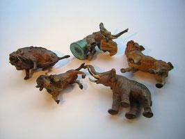 1958 Wiener Bronze Lot  5 Tiere