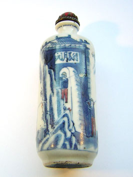 1752 China Kunstgewerbe Snuff Bottle Porzellan