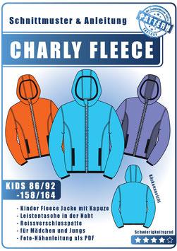 CHARLY Fleece Jacke Unisex