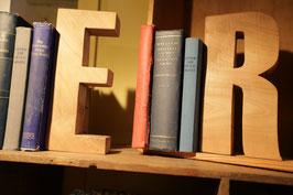 Deko-Holz-Buchstaben