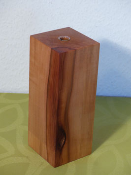 edle Vase aus Elsbeere