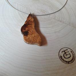 Kette aus exotischem Holz
