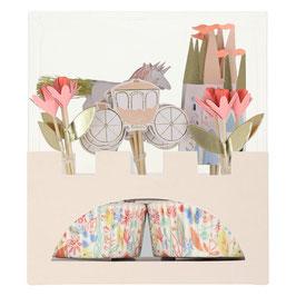 Cupcake Kit Princess/ Prinzessin Meri Meri