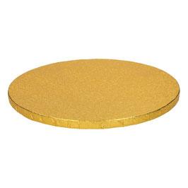 Tortenplatte Gold 30cm