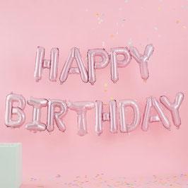 Happy Birthday Ballon Ginger Ray