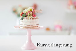 Kursverlängerung Aufbaukurs Ombre Cake