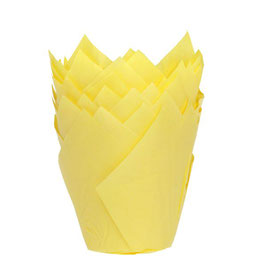 Muffin Cup Tulpe Gelb House of Marie