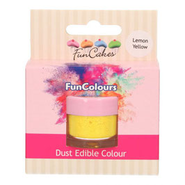 FunCakes essbares Funcolours Lebensmittelpuder - Lemon Yellow