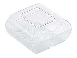 Macaron Schachtel klein 6er Box Transparent Silikomart
