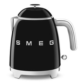 Smeg Mini Wasserkocher 50´s Style schwarz KLF05BLEU