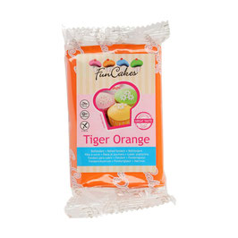 FunCakes Fondant - Tiger Orange 250g