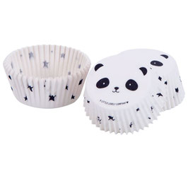 Cupcake Muffin Förmchen Panda a little lovely Company