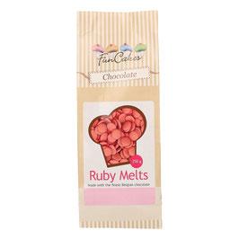 Ruby Melts Schokolade