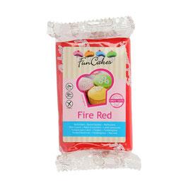 Fondant Fire Red FunCakes 250g