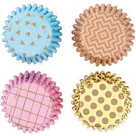 Cupcake Förmchen Mini Konfetti