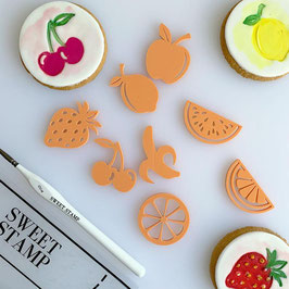 Fruits Symbolics Stamp by AmyCakes Sweet Stamp