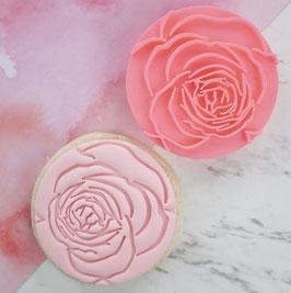 Rose Embosser Cookie Stamp by AmyCakes Sweet Stamp
