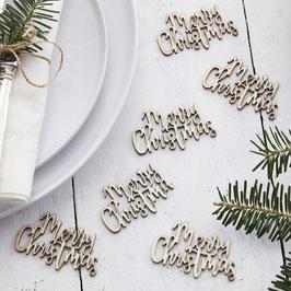 Merry Christmas Tischkonfetti