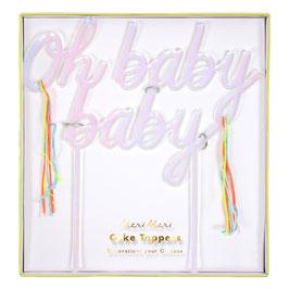 Caketopper Oh Baby Baby Meri Meri