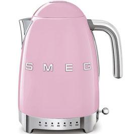 Smeg Wasserkocher mit Temperatureinstellung Cadilac pink KLF04PKEU