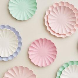 Papier Simply Eco Teller klein rosa Meri Meri