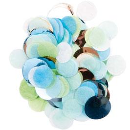 Konfetti Blau Grün Mix Yey